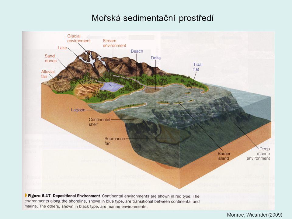 Mořská sedimentační prostředí