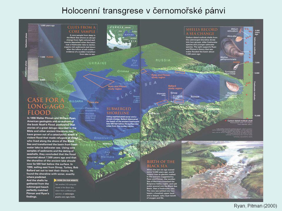 Holocenní transgrese v černomořské pánvi