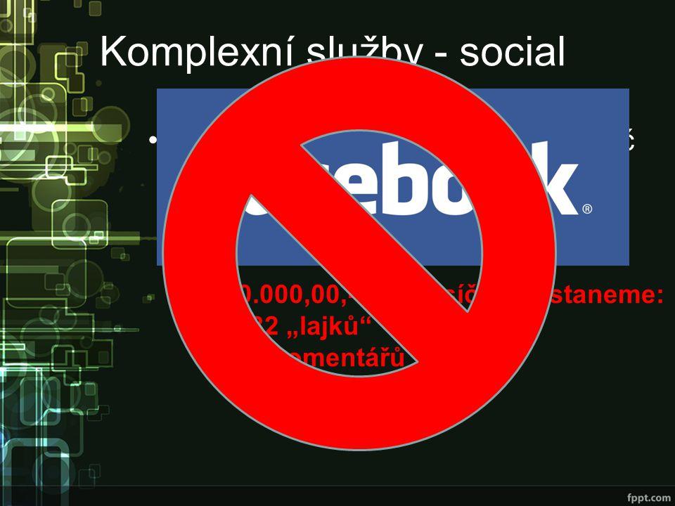 Komplexní služby - social