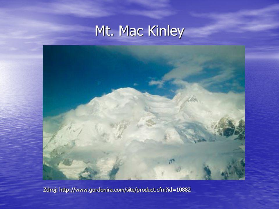 Mt. Mac Kinley Zdroj: http://www.gordonira.com/site/product.cfm id=10882