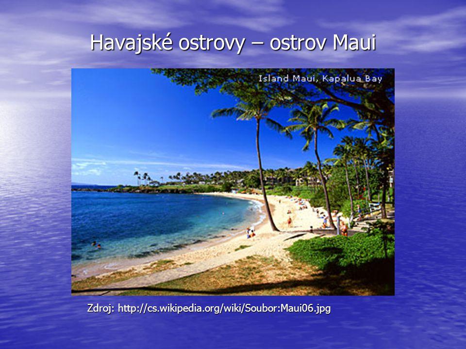 Havajské ostrovy – ostrov Maui