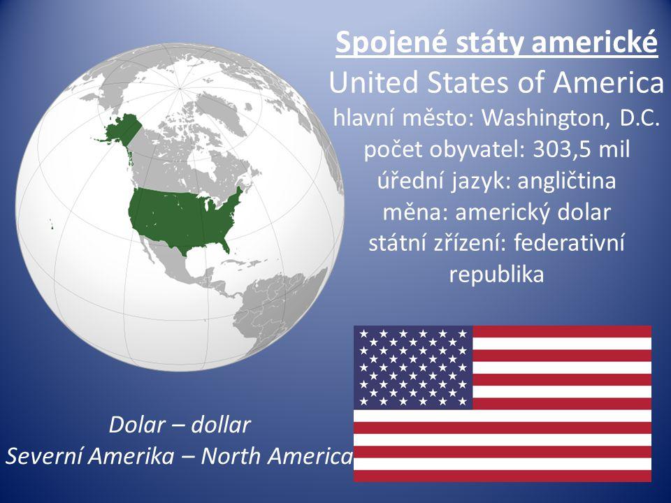 Severní Amerika – North America
