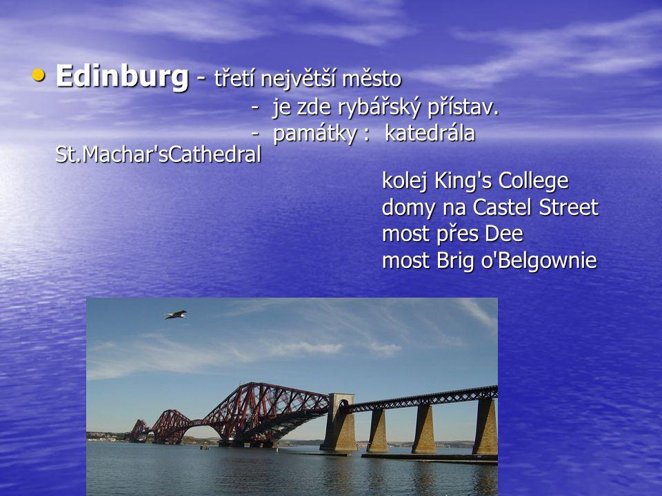 Edinburg - třetí největší město