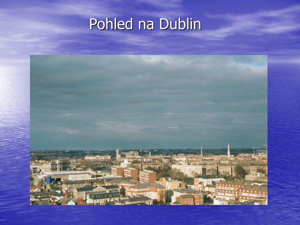 Pohled na Dublin