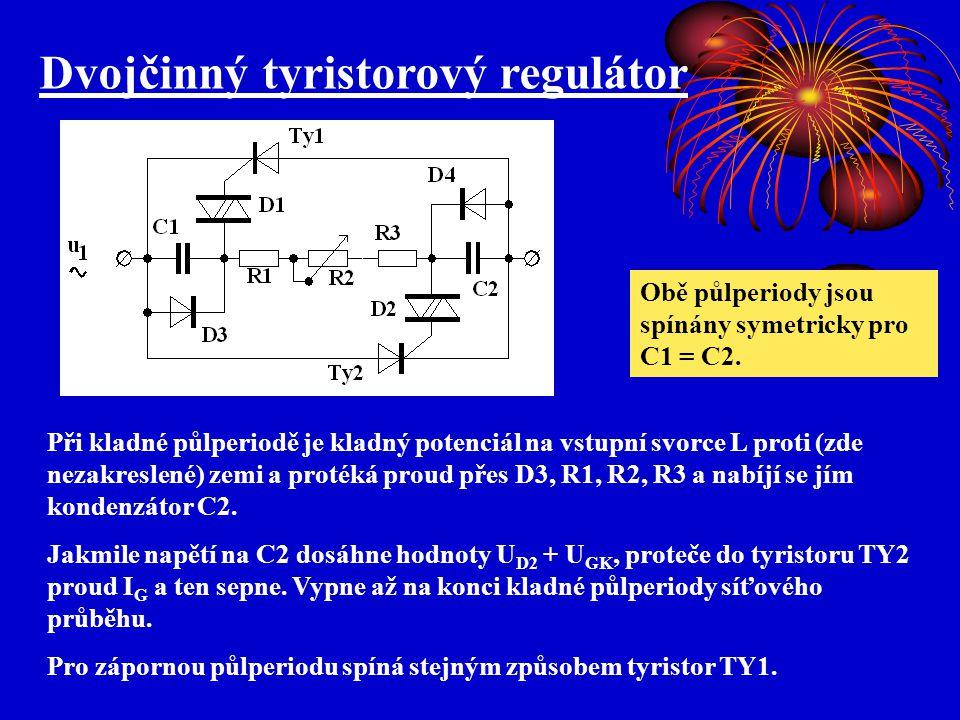 Dvojčinný tyristorový regulátor