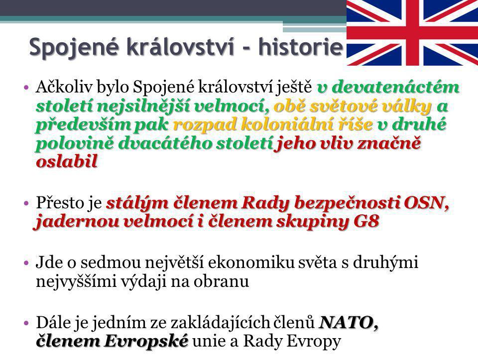 Spojené království - historie