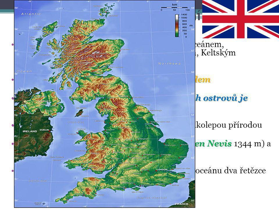 Spojené království – přírodní podmínky