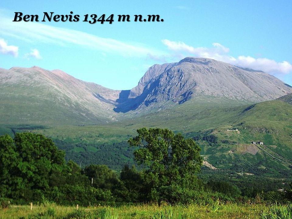 Ben Nevis 1344 m n.m.