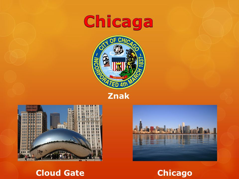 Chicaga Znak Cloud Gate Chicago