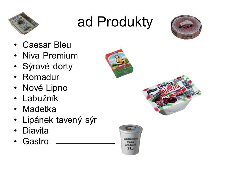 ad Produkty Caesar Bleu Niva Premium Sýrové dorty Romadur Nové Lipno