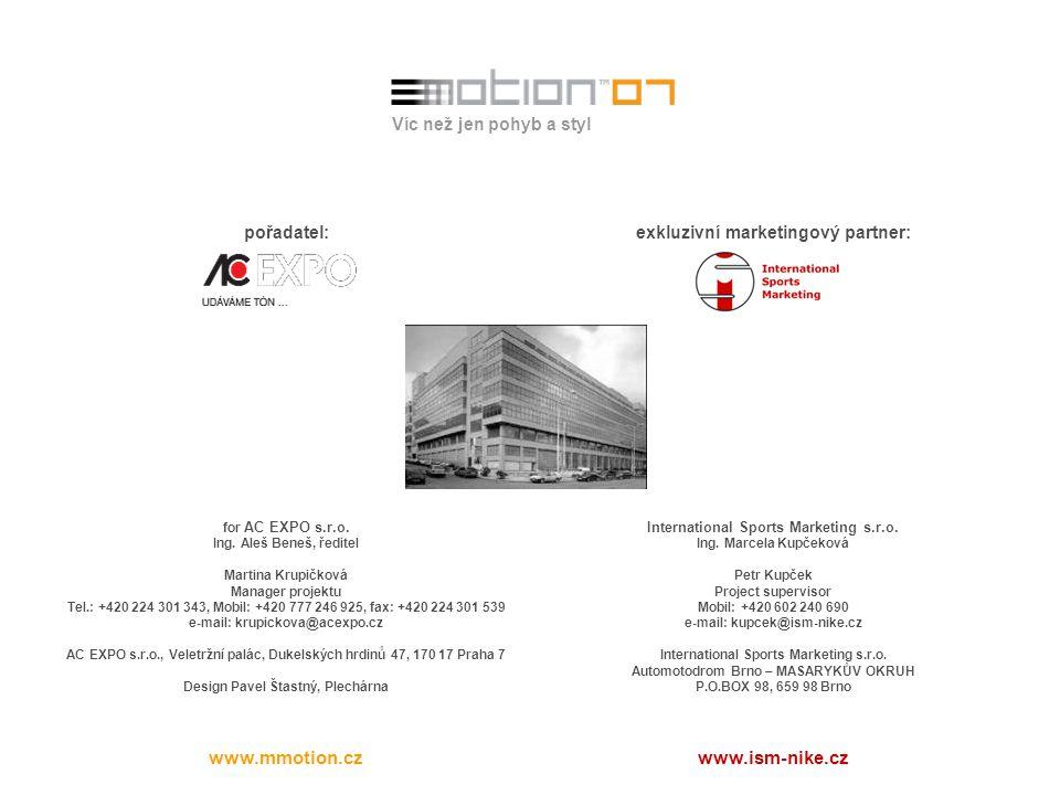 www.mmotion.cz www.ism-nike.cz