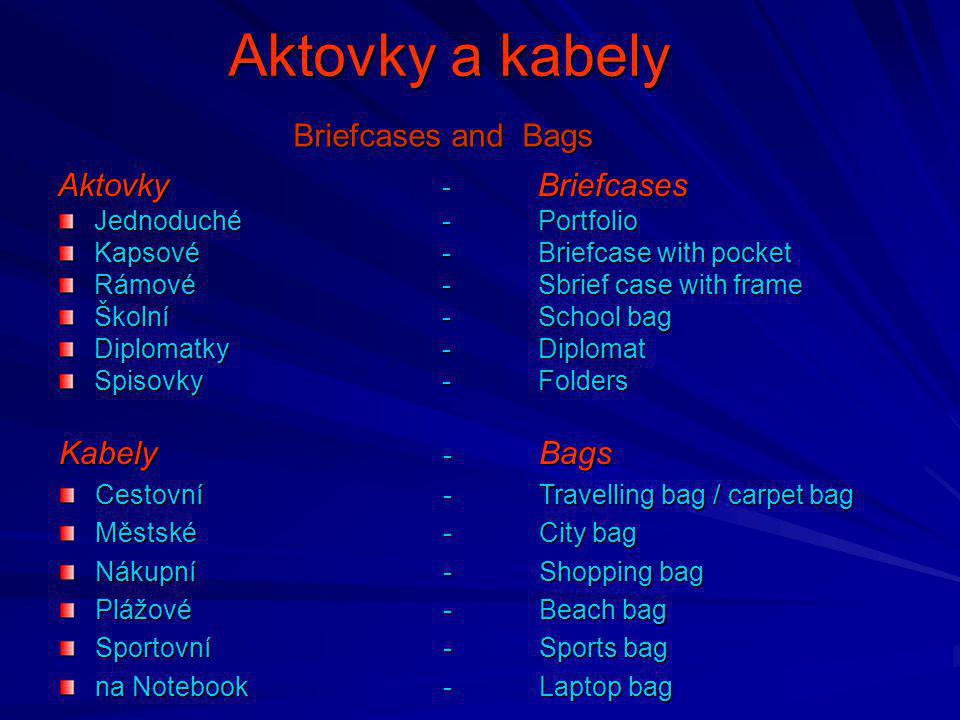 Aktovky a kabely Briefcases and Bags Aktovky - Briefcases