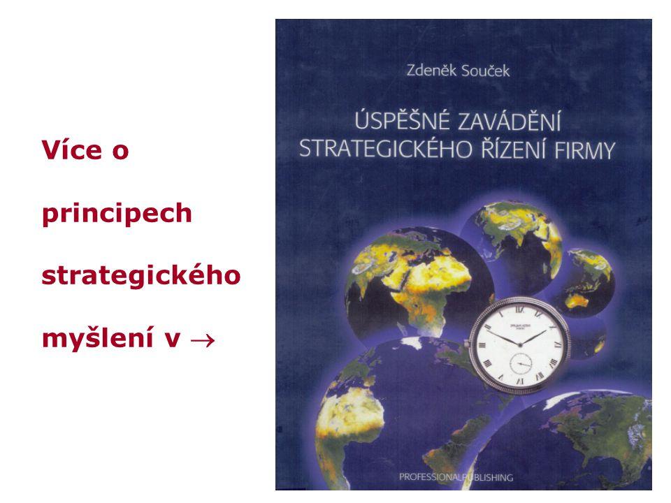 Více o principech strategického myšlení v 