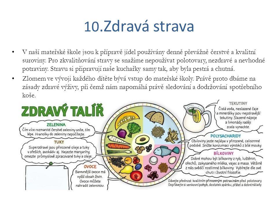 10.Zdravá strava