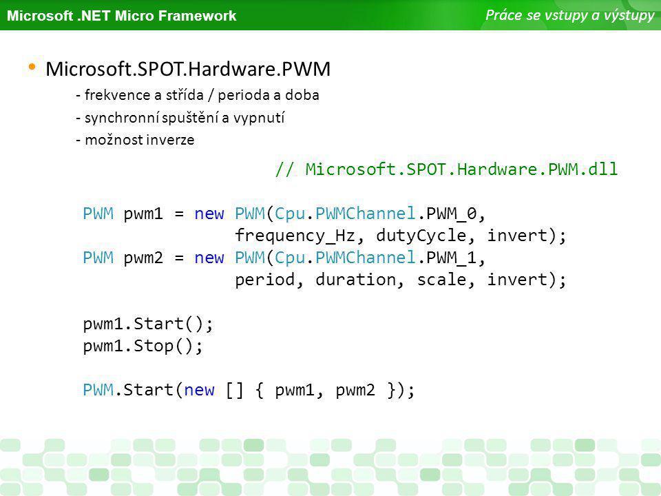 Microsoft.SPOT.Hardware.PWM // Microsoft.SPOT.Hardware.PWM.dll