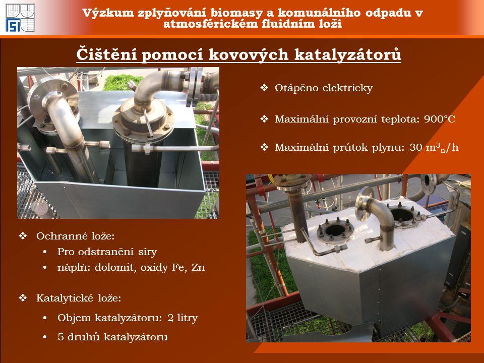 Čištění pomocí kovových katalyzátorů
