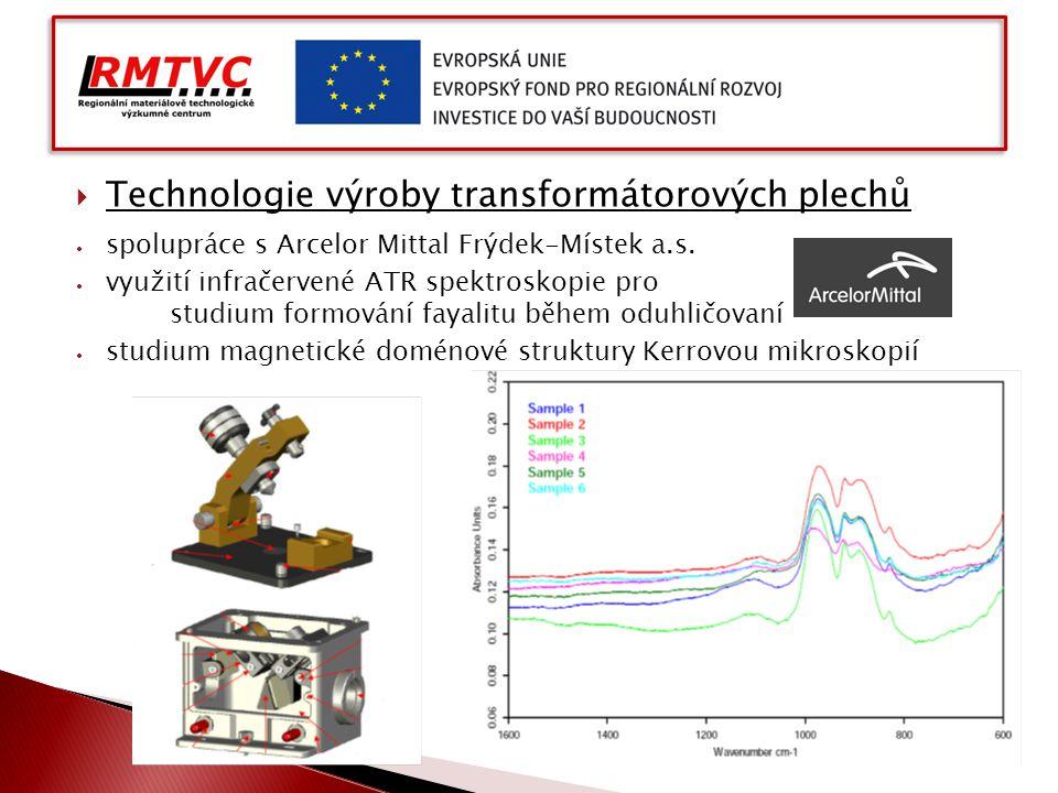 Technologie výroby transformátorových plechů
