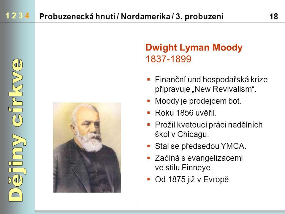 Dějiny církve Dwight Lyman Moody 1837-1899 1 2 3 4