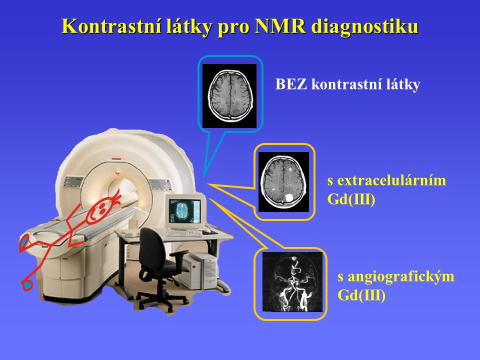 Kontrastní látky pro NMR diagnostiku