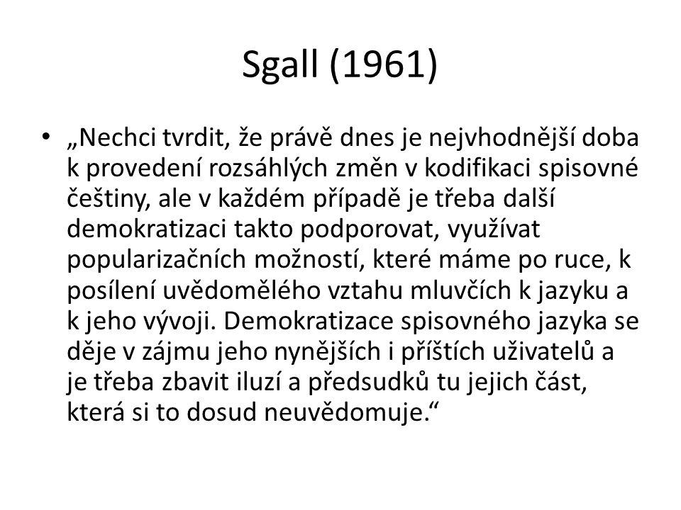 Sgall (1961)