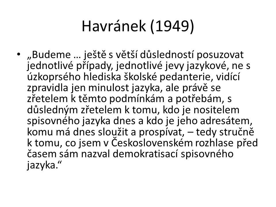 Havránek (1949)