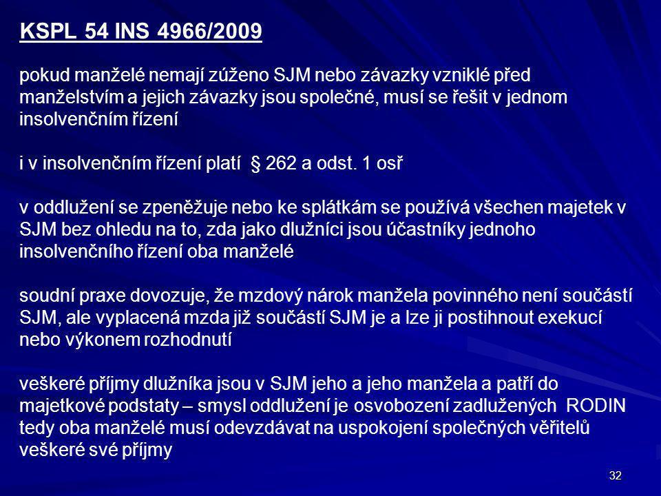 KSPL 54 INS 4966/2009