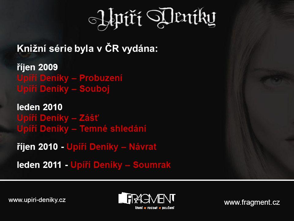 Knižní série byla v ČR vydána:
