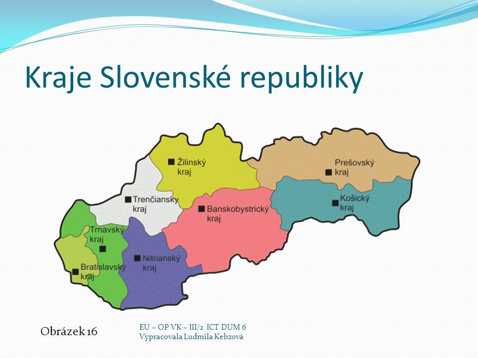 Kraje Slovenské republiky