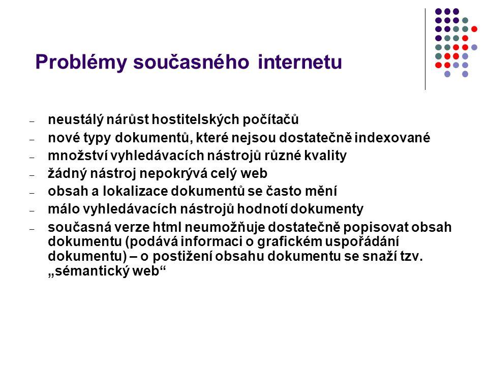 Problémy současného internetu