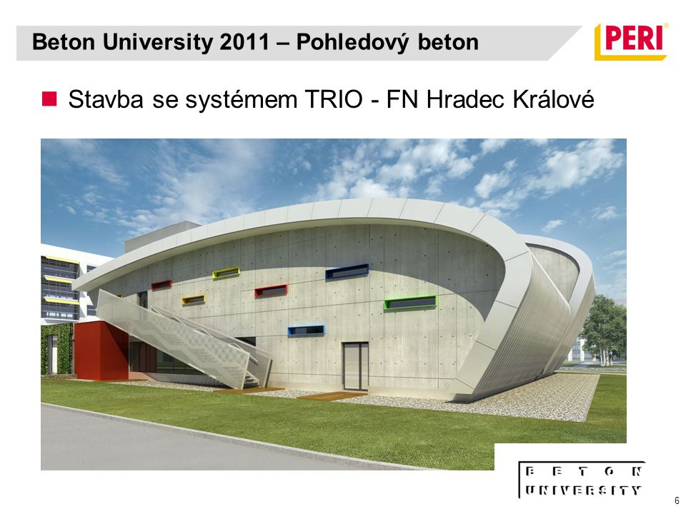 Beton University 2011 – Pohledový beton