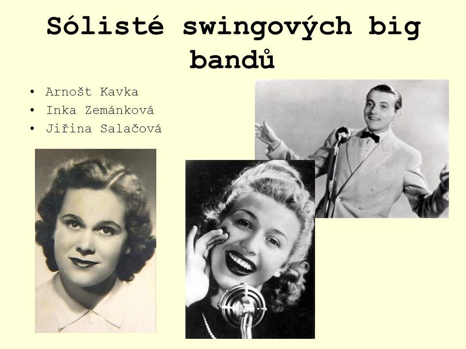 Sólisté swingových big bandů