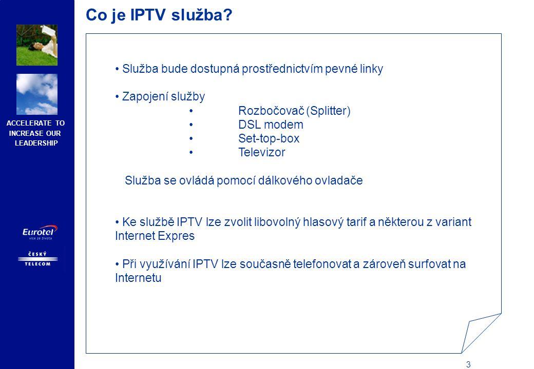 Poskytování IPTV služeb