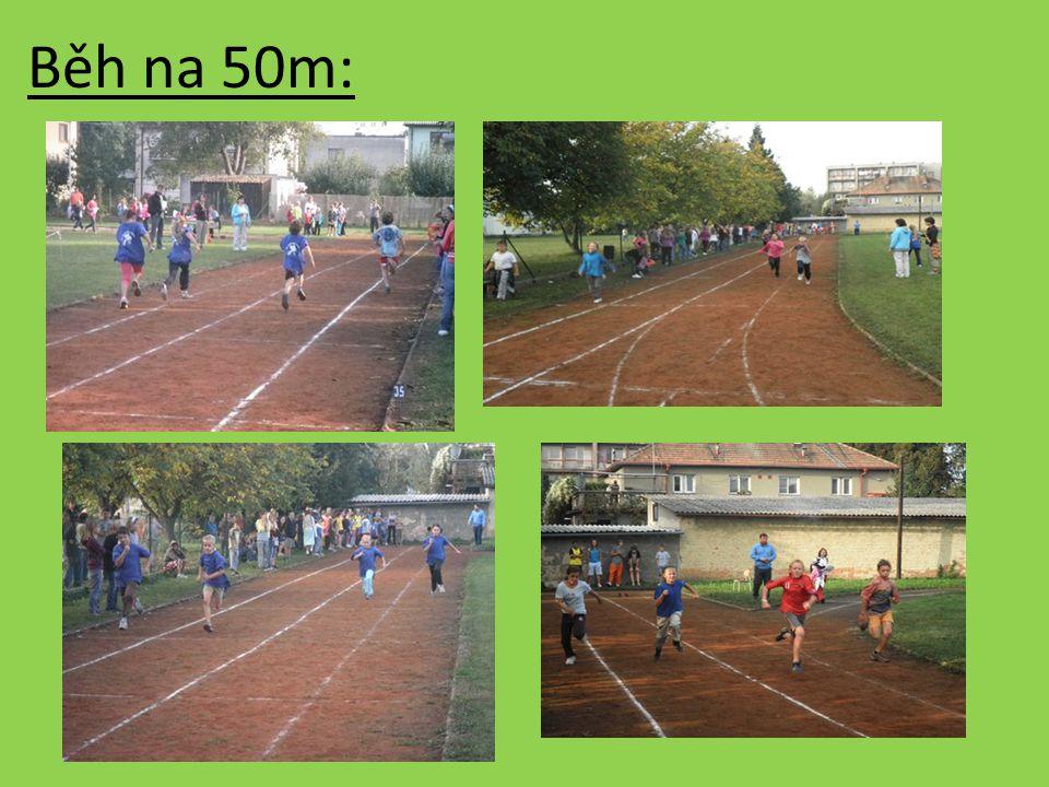 Běh na 50m: