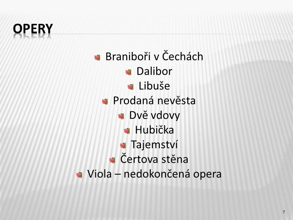 Viola – nedokončená opera