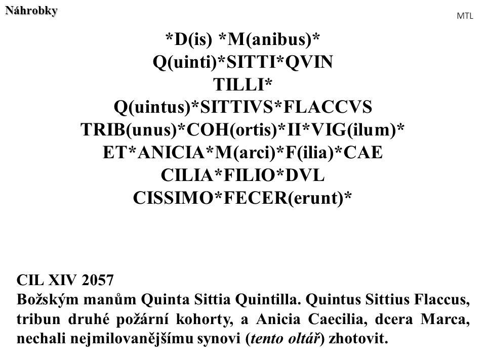 Q(uintus)*SITTIVS*FLACCVS TRIB(unus)*COH(ortis)*II*VIG(ilum)*
