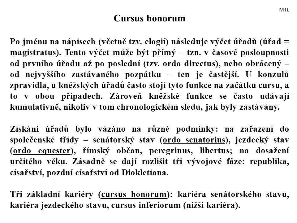 MTL Cursus honorum.