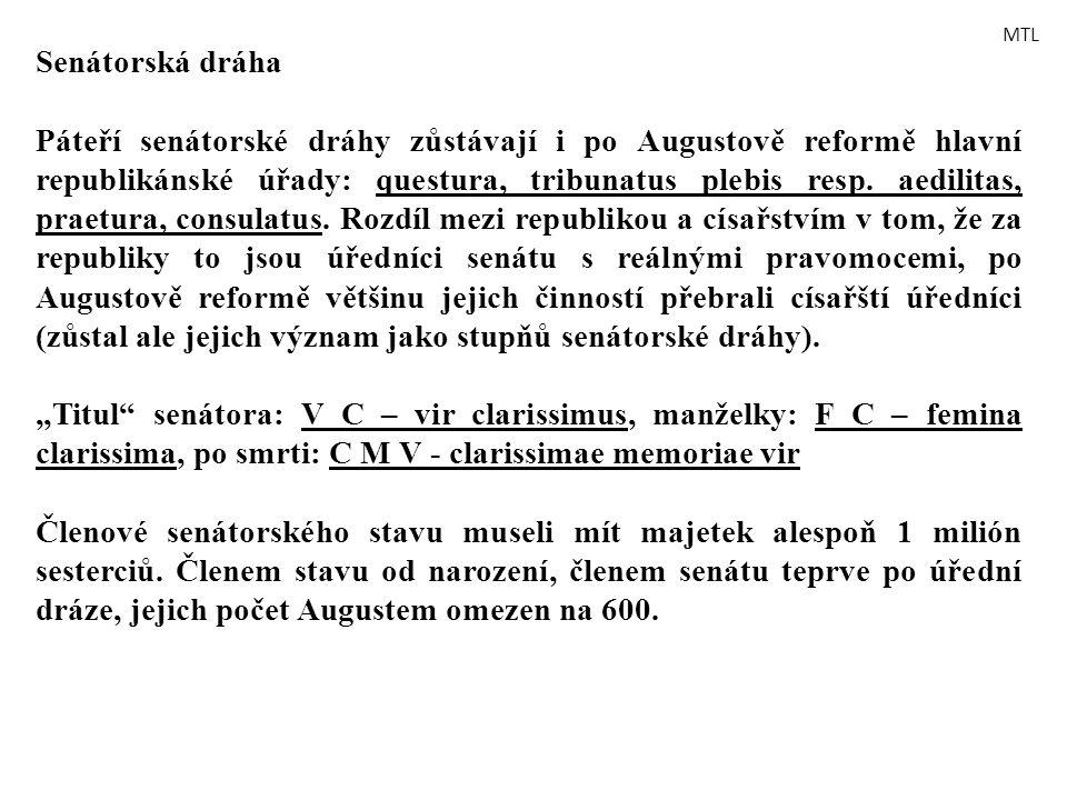 MTL Senátorská dráha.