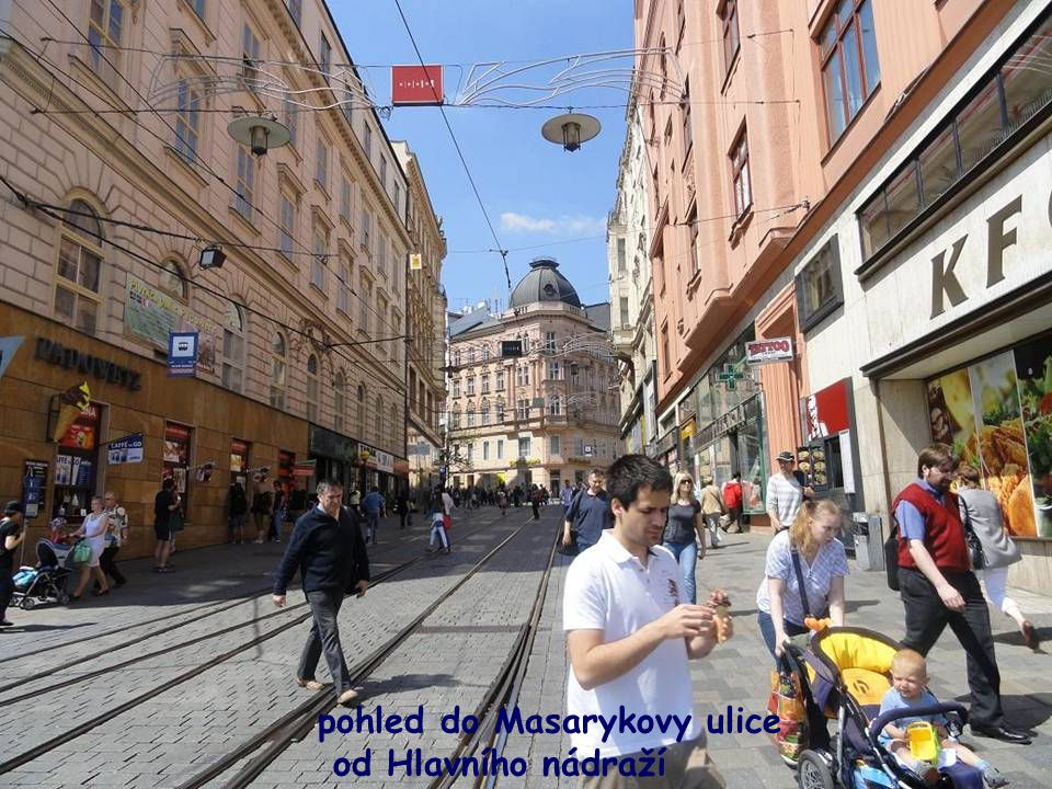 pohled do Masarykovy ulice