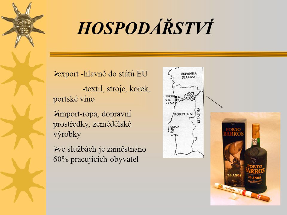 HOSPODÁŘSTVÍ export -hlavně do států EU