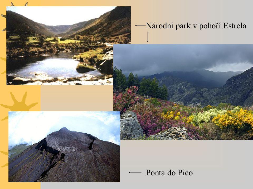 Národní park v pohoří Estrela
