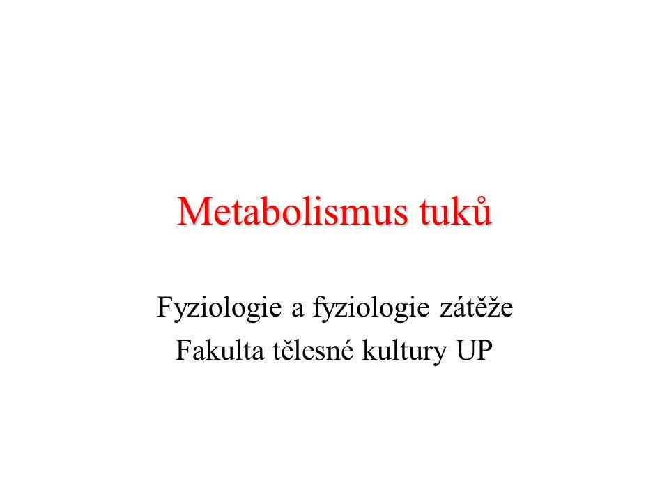 Fyziologie a fyziologie zátěže Fakulta tělesné kultury UP