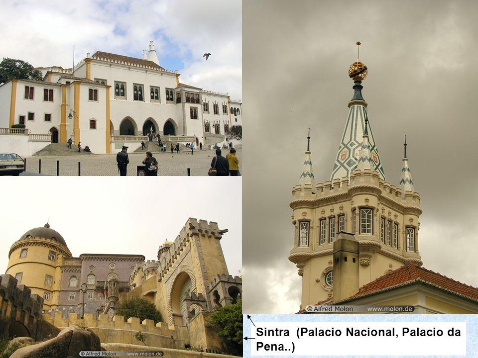 Sintra (Palacio Nacional, Palacio da Pena..)