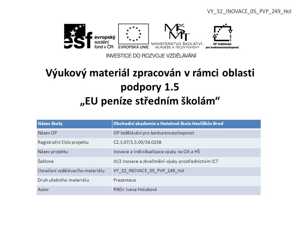 VY_32_INOVACE_05_PVP_249_Hol