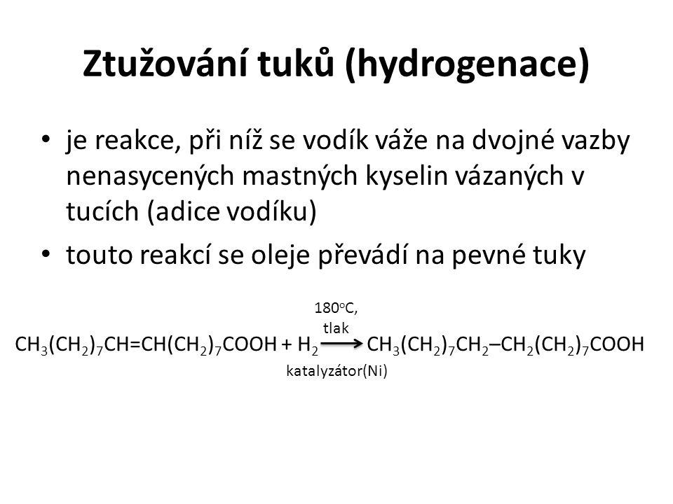 Ztužování tuků (hydrogenace)