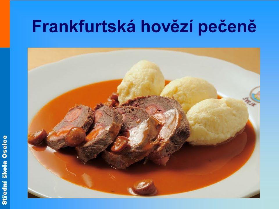 Frankfurtská hovězí pečeně