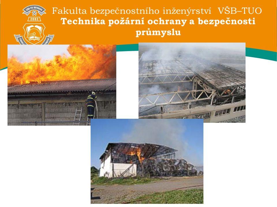 Technika požární ochrany a bezpečnosti průmyslu