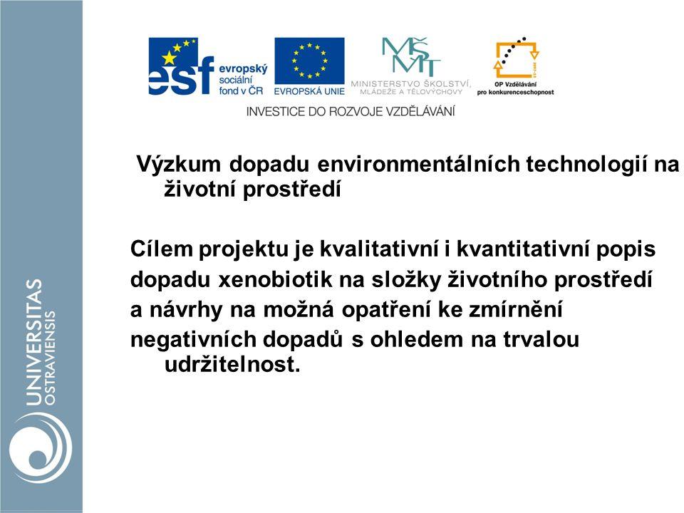 Výzkum dopadu environmentálních technologií na životní prostředí