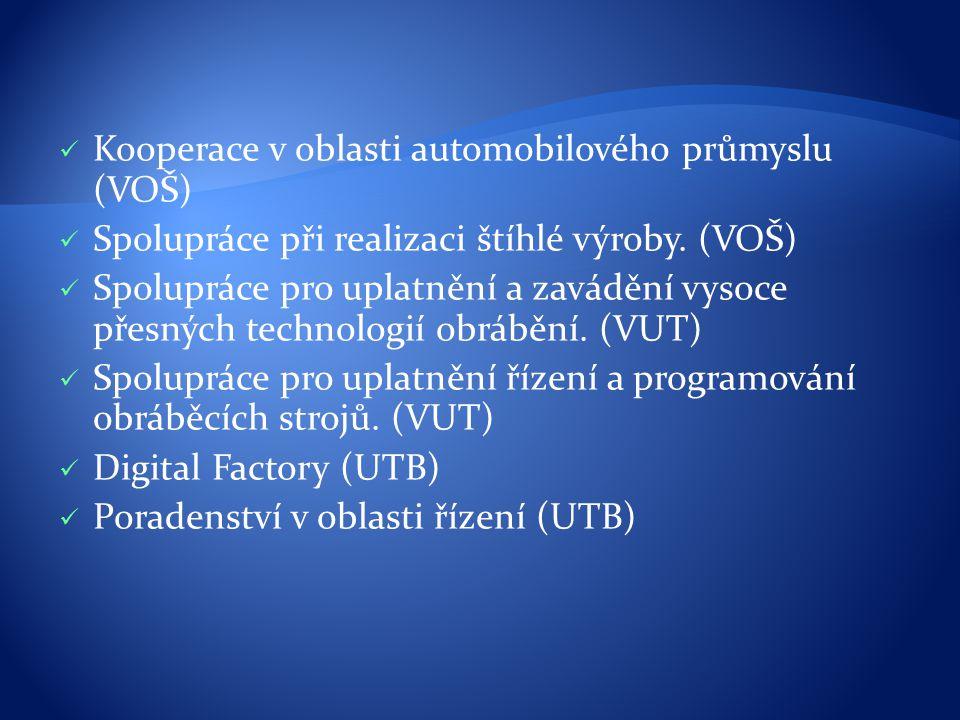 Kooperace v oblasti automobilového průmyslu (VOŠ)