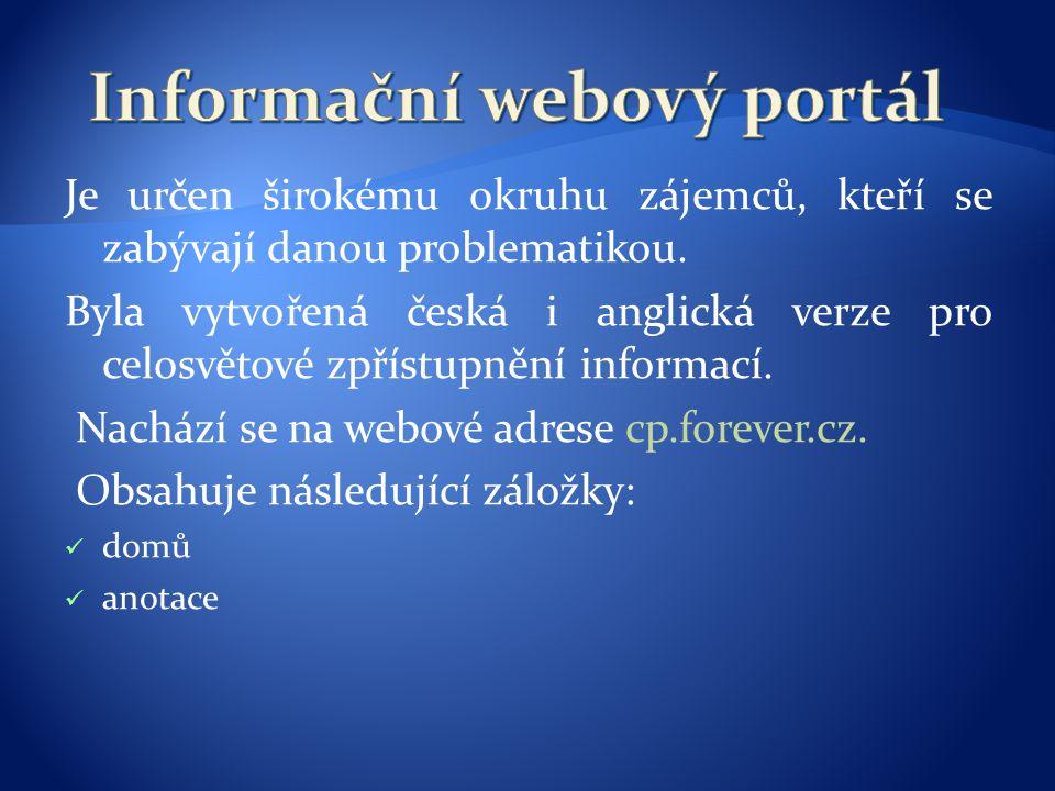 Informační webový portál
