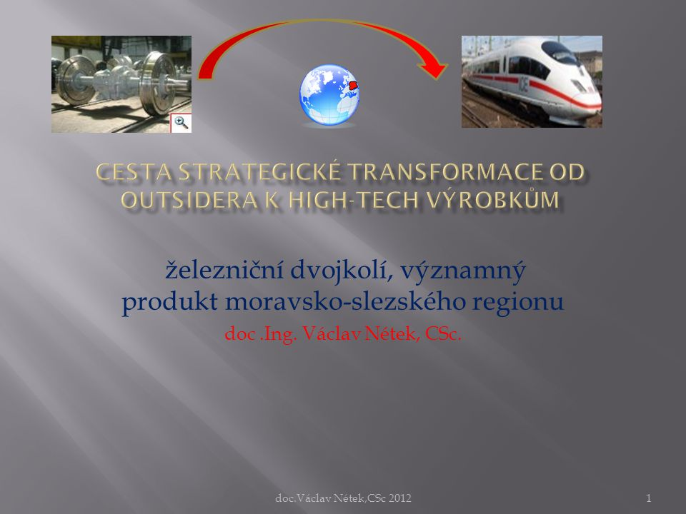 Cesta strategické transformace od outsidera k high-tech výrobkům